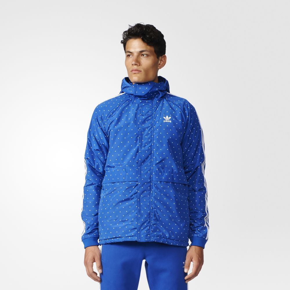 Geci Adidas Originals Pharrell Williams Hu Sherpa Barbati Albi Albastri 72742919RW
