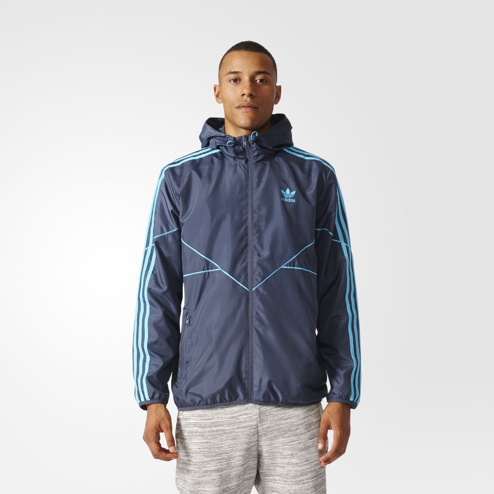 Geci Adidas Originals Tactical Tech Barbati Albastri 24677734CY