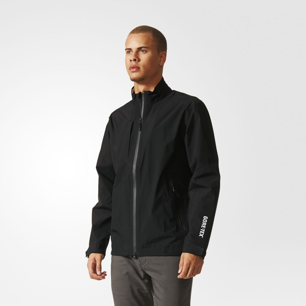 Jachete Adidas Gore-tex Two-layer Golf Barbati Negrii 62564086EL