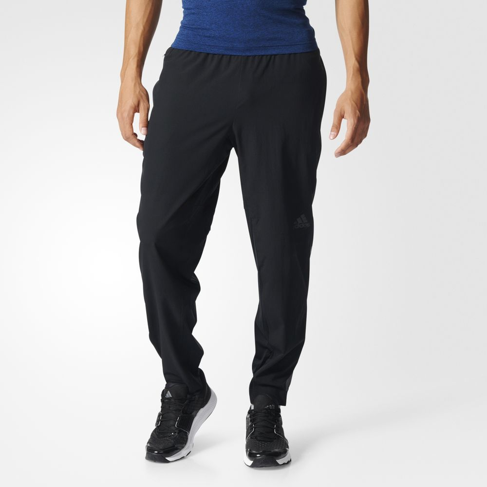Pantaloni Adidas Climacool Workout Training Barbati Negrii 80482788OC