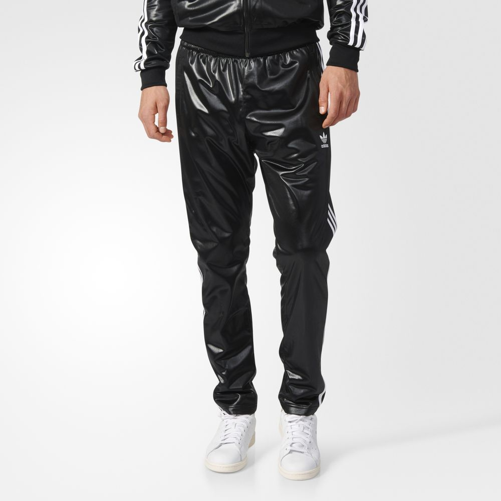 Pantaloni Adidas Originals Chile Tracks Barbati Negrii 92183227ZE