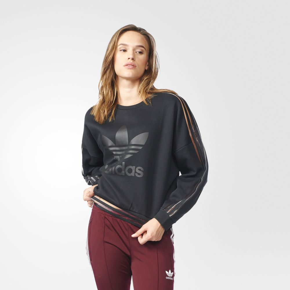 Sweatshirt Adidas Originals Dama Negrii 49440917CS