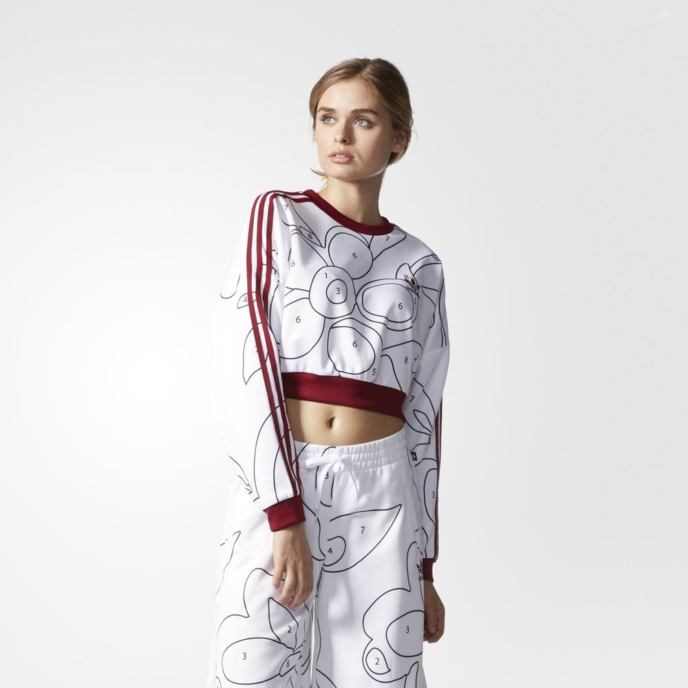 Sweatshirt Adidas Originals Rita Ora Dama Colorati 53994750UE
